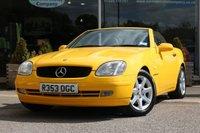1998 MERCEDES-BENZ SLK 2.3 SLK230 KOMPRESSOR 2d AUTO 190 BHP £7995.00