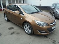 USED 2015 VAUXHALL ASTRA 1.6 SRI 5d AUTO 115 BHP retail price £8495,with £500 minimum part exchange allowance,balance price £7995