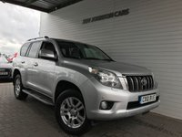 USED 2010 10 TOYOTA LAND CRUISER 3.0 D-4D LC4 5d AUTO 171 BHP