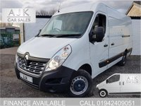 USED 2015 65 RENAULT MASTER 2.3 MML35 BUSINESS DCI 15 MONTH WARRANTY, 1 OWNER
