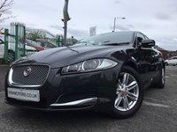 2014 JAGUAR XF 2.2 D LUXURY 4d AUTO 163BHP £12390.00