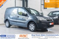 2015 PEUGEOT PARTNER 1.6 HDI PROFESSIONAL 625 92 BHP *FINISHED IN STUNNING GREY* £6995.00