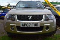 USED 2007 07 SUZUKI GRAND VITARA 2.0 16V 5d AUTO 139 BHP
