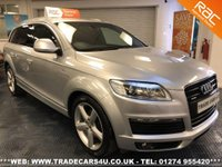 USED 2006 AUDI Q7 3.0 TDI DIESEL AUTO QUATTRO AWD S LINE 7 SEATER UK DELIVERY* RAC APPROVED* FINANCE ARRANGED* PART EX