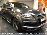 USED 2011 61 AUDI Q7 S LINE PLUS SPEC 3.0 TDI 245 QUATTRO 7 SEATER UK DELIVERY* RAC APPROVED* FINANCE ARRANGED* PART EX