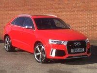2015 AUDI Q3 2.5 RS TFSI QUATTRO 5d AUTO 335 BHP £29995.00