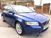 2009 VOLVO V50  2.0 DIESEL ESTATE POWERSHIFT 6 SPD AUTO SE LUX