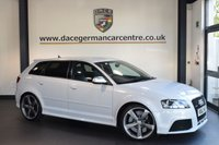 USED 2012 62 AUDI RS3 2.5 QUATTRO 5DR AUTO 340 BHP full service history SUZUKA GREY WITH WITH FINE BLACK NAPPA LEATHER INTERIOR + FULL SERVICE HISTORY + BLUETOOTH + HEATED SEATS + BOSE SOUND SYSTEM + PARKING SENSORS + DAB RADIO + 17 INCH ALLOY WHEELS