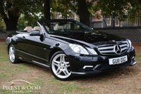 USED 2011 11 MERCEDES-BENZ E CLASS E350 3.0 CDI SPORT BLUEEFFICIENCY AUTO [230 BHP] CABRIOLET