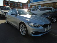 2016 BMW 4 SERIES 2.0 420D SE GRAN COUPE 4d 188 BHP £17249.00