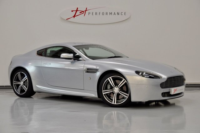 2008 08 ASTON MARTIN VANTAGE 4.3 V8 N400 3d 400 BHP RARE MANUAL COUPE FULL AMSH