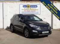 USED 2012 62 HYUNDAI SANTA FE 2.2 PREMIUM CRDI 5d AUTO 194 BHP Service History Huge Spec NAV Buy Now, Pay in 2 Months!