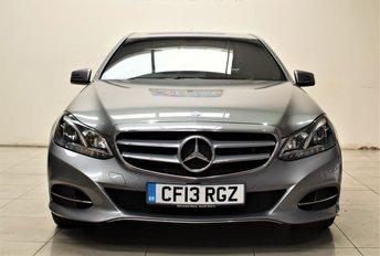 2013 MERCEDES-BENZ E CLASS 2.1 E220 CDI SE 4d AUTO 168 BHP £12299.00