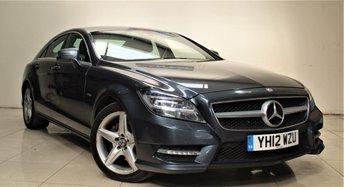 2012 MERCEDES-BENZ CLS CLASS 3.0 CLS350 CDI SPORT AMG 4d AUTO 265 BHP £13299.00