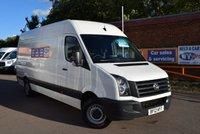 2012 VOLKSWAGEN CRAFTER 2.0 CR35 TDI 1d 107 BHP £8499.00