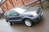 2007 FORD FUSION 1.4 STYLE CLIMATE 5d 80 BHP + AIR CON £1990.00