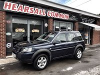 USED 2004 04 LAND ROVER FREELANDER 2.0 TD4 SE STATION WAGON 5d AUTO 110 BHP