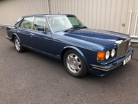 1989 BENTLEY TURBO R 6.8 V8, STUNNING COBALT BLUE WITH CREAM LEATHER! £14995.00