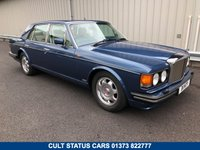 1989 BENTLEY TURBO R 6.8 V8, STUNNING COBALT BLUE WITH CREAM LEATHER! £15995.00