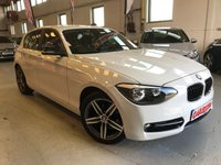 USED 2014 14 BMW 1 SERIES 2.0 116D SPORT 5d 114 BHP