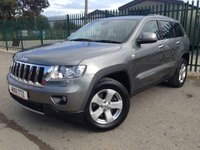2011 JEEP GRAND CHEROKEE 3.0 V6 CRD LIMITED 5d AUTO 237 BHP FACELIFT LEATHER FSH £14990.00