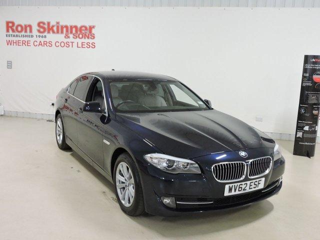 View our 2012 62 BMW 5 SERIES 2.0 520D SE 4d 181 BHP