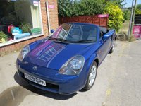 USED 2001 Y TOYOTA MR2 1.8 ROADSTER 2d 138 BHP 1 OWNER, RARE AIRCON CAR- VERY LOW MILEAGE!