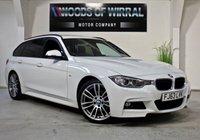 2013 BMW 3 SERIES 2.0 320D M SPORT TOURING 5d AUTO 181 BHP £12480.00