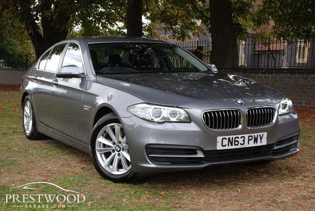 2013 63 BMW 5 SERIES 520D SE STEP AUTO [185 BHP] 4 DOOR SALOON