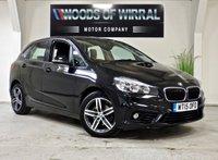 2015 BMW 2 SERIES 2.0 218D SPORT ACTIVE TOURER 5d AUTO 148 BHP £12980.00