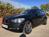 2015 BMW 1 SERIES 2.0 116D SPORT 3d 114 BHP £9990.00