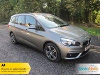 2016 BMW 2 SERIES 1.5 216D SPORT GRAN TOURER 5d 114 BHP £14500.00