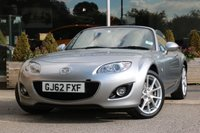 2012 MAZDA MX-5 2.0 I ROADSTER SPORT TECH 2d 158 BHP £9882.00
