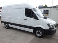 USED 2015 15 MERCEDES-BENZ SPRINTER 313 CDI MWB HI ROOF, 130 BHP [EURO 5]