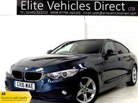 2016 BMW 4 SERIES 2.0 420D SE GRAN COUPE 4d AUTO 188 BHP