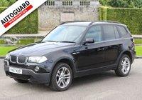 USED 2007 57 BMW X3 2.0 D SE 5d 148 BHP Finance options available