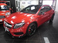 USED 2015 65 MERCEDES-BENZ GLA-CLASS 2.0 GLA45 AMG 4MATIC 5d AUTO 360 BHP