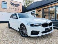 2017 BMW 5 SERIES 3.0 530D XDRIVE M SPORT 4d AUTO 261 BHP £31490.00