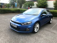 2014 VOLKSWAGEN SCIROCCO 2.0 GT TDI BLUEMOTION TECHNOLOGY 2d 150 BHP £SOLD