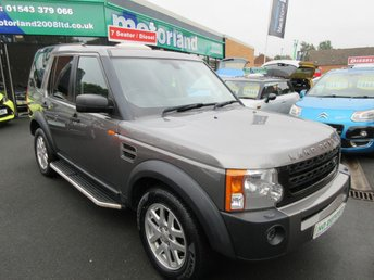 2008 LAND ROVER DISCOVERY 2.7 3 TDV6 XS 5d AUTO 188 BHP £10000.00