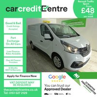 USED 2015 15 RENAULT TRAFIC 1.6 SL27 SPORT ENERGY DCI S/R P/V 1d 120 BHP