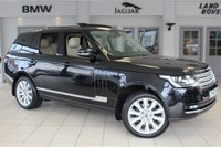 USED 2012 62 LAND ROVER RANGE ROVER 3.0 TDV6 VOGUE 5d AUTO 258 BHP FULL LEATHER SEATS + FULL LAND ROVER SERVICE HISTORY + SATELLITE NAVIGATION + SURROUND VIEW REVERSE CAMERA + HEATED/COOLED FRONT SEATS + PANORAMIC ROOF + XENON HEADLIGHTS + DAB RADIO + 21 INCH ALLOYS + HEATED STEERING WHEEL + 4 ZONE AIR CONDITIONING + HEATED REAR SEATS + ELECTRIC TAILGATE