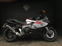 USED 2009 09 BMW K1300S 2009. FSH. JUST SERVICED. 32k. SCORPION EXHAUST. ESA