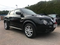 2015 NISSAN JUKE 1.2  DIG-T ACENTA 5d WITH ONLY 9,000 MILES AND ONE OWNER FROM NEW  £SOLD