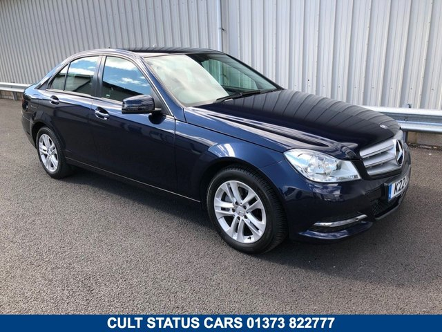 2012 62 MERCEDES-BENZ C-CLASS C220CDI EXECUTIVE SE AUTOMATIC SALOON