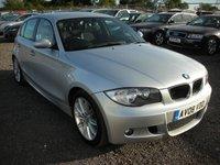 2008 BMW 1 SERIES 2.0 118D M SPORT 5d 141 BHP £4000.00