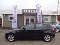 2009 BMW 1 SERIES 2.0 118D SE 5DR AUTOMATIC DIESEL 141 BHP £5550.00