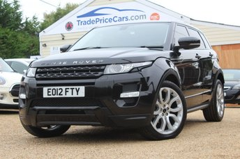 2012 LAND ROVER RANGE ROVER EVOQUE 2.2 SD4 DYNAMIC 5d 190 BHP £19950.00