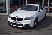 2016 BMW 5 SERIES 2.0 520D M SPORT 4d AUTO 188 BHP £21990.00