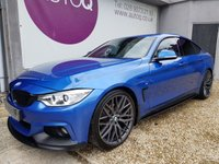 USED 2015 06 BMW 4 SERIES 2.0 420D M SPORT GRAN COUPE 4d 188 BHP